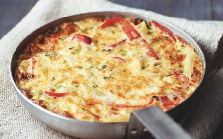 Cheddar-cheese-Frittata-recipe